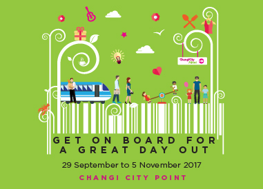 Hop On For Some Excitement at Changi City Point