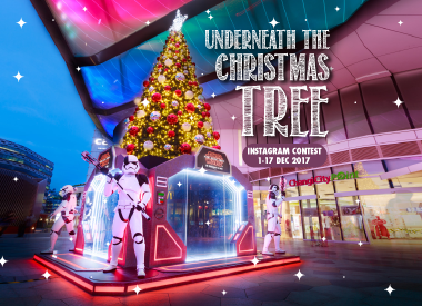 Underneath the Christmas Tree Instagram Contest