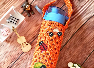 Decorate Your Crochet Water Bottle Holder Workshop