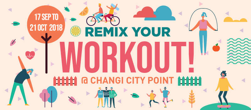 Remix Your Workout at Changi City Point