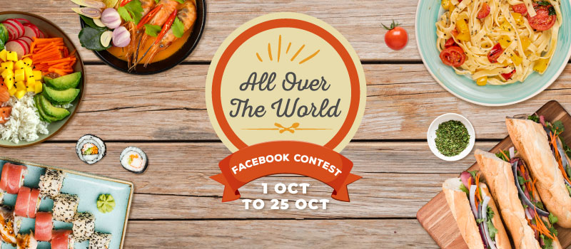 All Over The World Facebook Contest