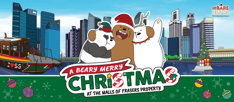 A Beary Merry Christmas at the Malls of Frasers Property